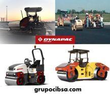 DYNAPAC - LA MARCA - Equipos de construcción de carreteras