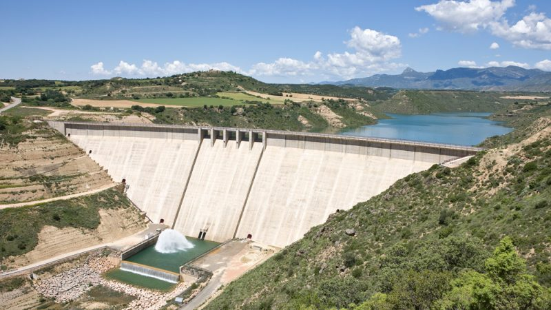Project for waterproofing galleries at the Montearagón dam, Huesca