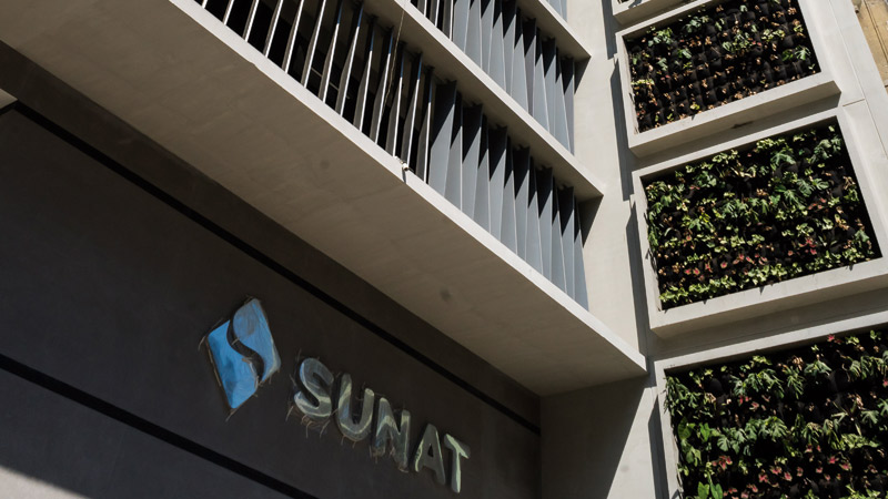 SUNAT office building, 20 floors, Lima. Peru.
