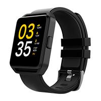 GHIA SMART WATCH/ PANTALLA 1.54 TOUCH / BT / IOS / ANDROID / NEGRO
