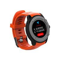 GHIA SMART WATCH DRACO /1.3 TOUCH/ HEART RATE/ BT/ GPS/ GAC-071 / COLOR ANARANJADO