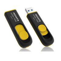 MEMORIA ADATA 16GB USB 3.0 UV128 RETRACTIL NEGRO-AMARILLO