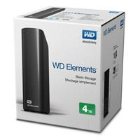 DD EXT ESCRITORIO 4TB WD ELEMENTS NEGRO 3.5/USB3.0/WIN