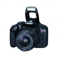 CAMARA CANON EOS T6, 18 MP CMOS, LCD3, V. FULLHD, 3CPS, WIFI, NFC. HDMI. C/LENTE 18-55MM / EF 75-300MM III / 1159C166AA