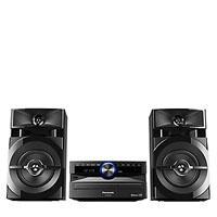 MINI COMPONENTE PANASONIC AKX100 3300W PMPO 300W RMS BLUETOOTH CD MP3 USB AM/FM