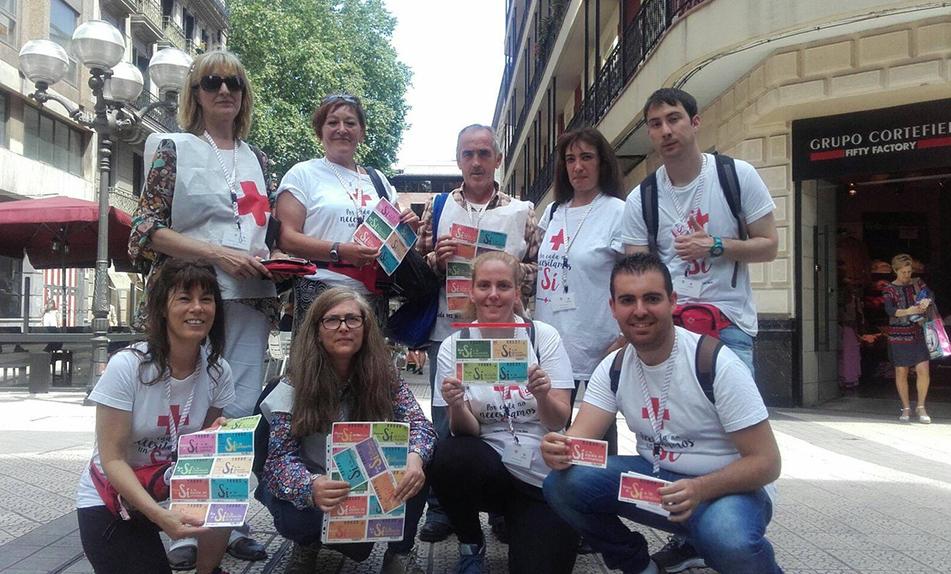 Colaboración con Cruz Roja Española para el Sorteo de Oro