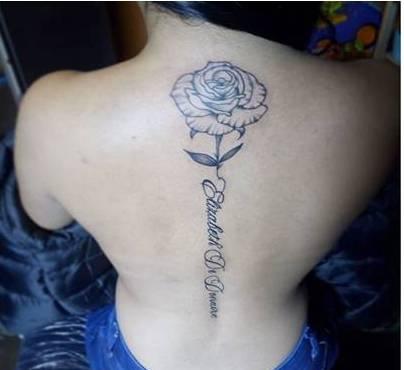 Tattoo Lettering Art