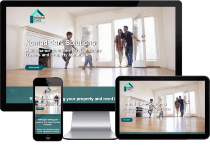 Landing Page - Proyecto NOMAD CARE SOLUTIONS - Diseño Web