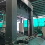 Guilhotina para descaracterização de bobinas de papel
