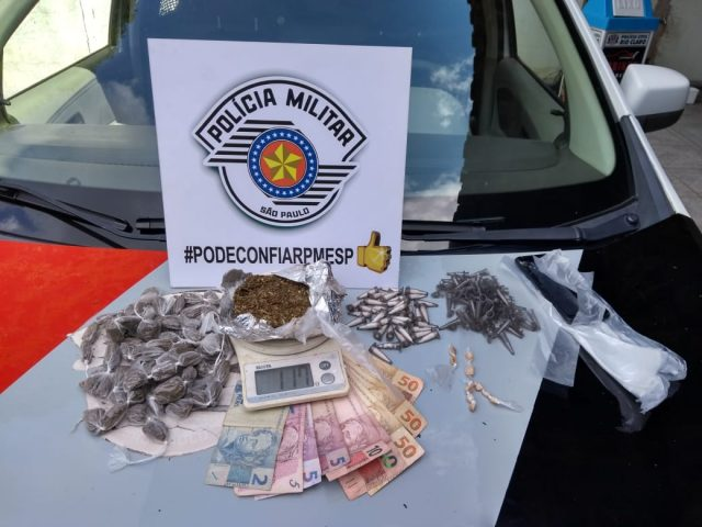ROCAM detém menor por tráfico de drogas no Santa Eliza