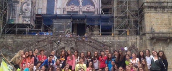 Ultreia Peregrinos! Estamos en Santiago!!
