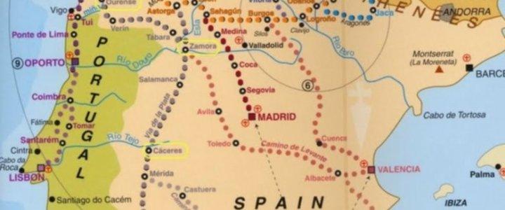 Etapas Camino de Santiago 2015