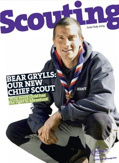 Bear Grylls Jefe Scout