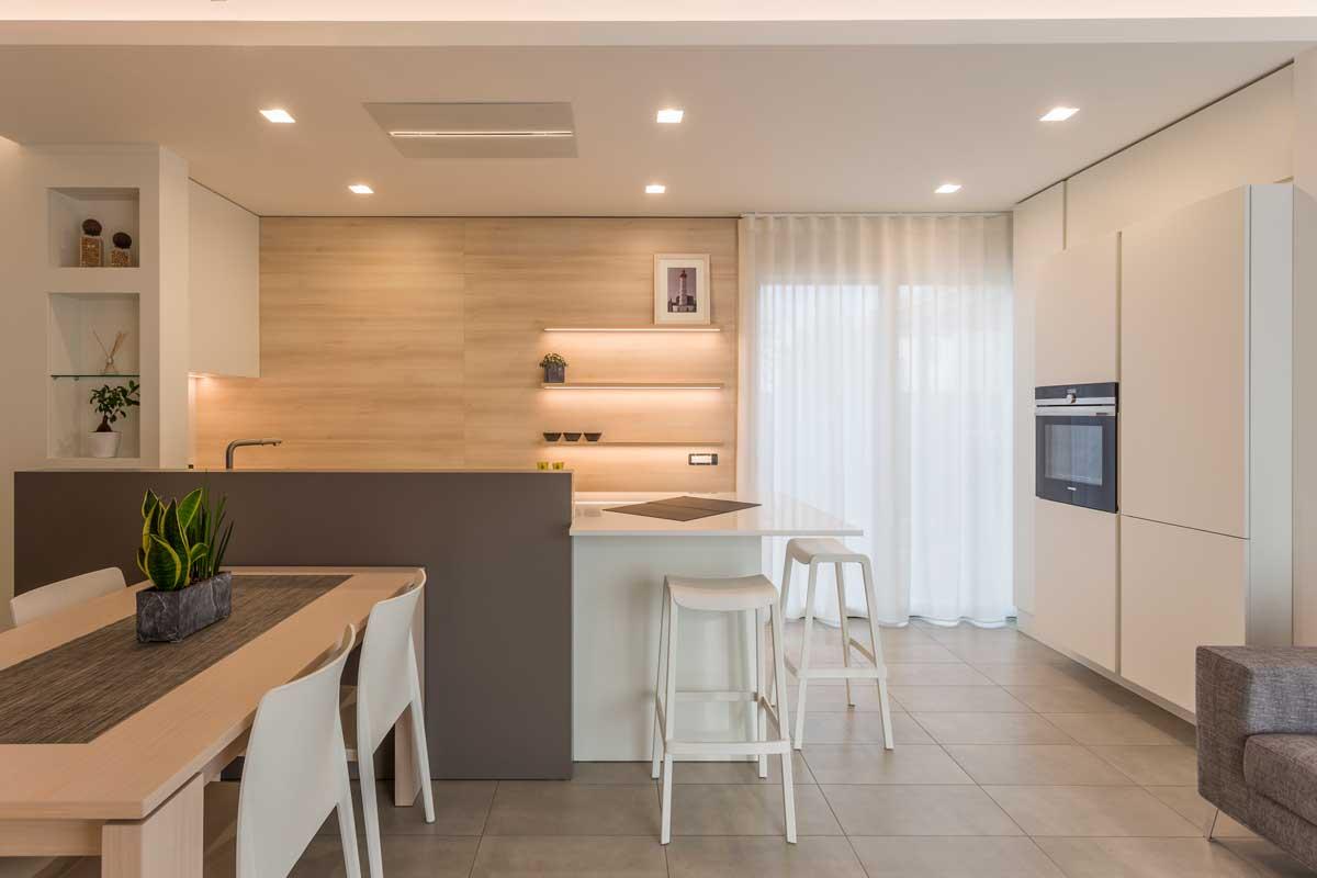 Come arredare cucina e soggiorno in un ambiente unico: Kitchens And Living Rooms Bespoke Furniture Gruppo 5 Made In Italy Design
