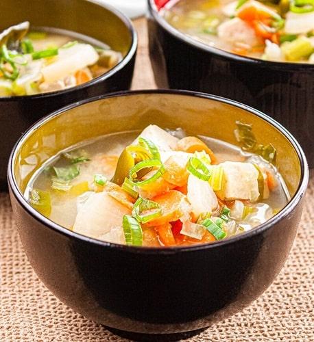 zuppa di daikon