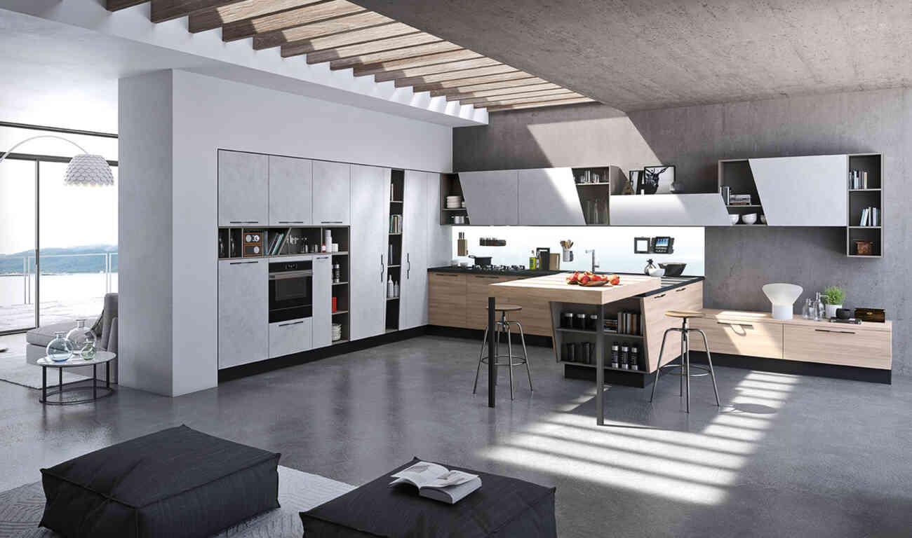 Mia Kitchen  Aran Cucine  Gruppo Inventa Furniture Malta