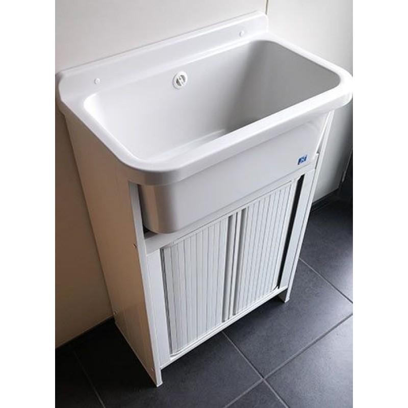 Mobile lavatoio Orazio salvaspazio 55x35 cm  San Marco