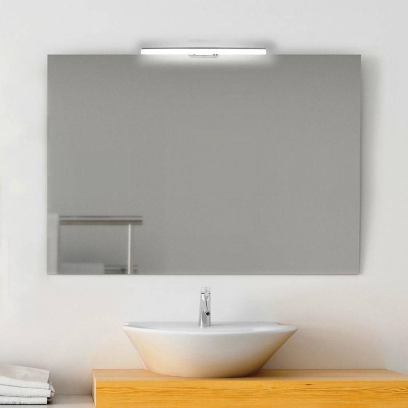 Azhien lampada da specchio a led per bagno 5w 30cm 400lm, bianco neutra 4000k lampada armadio applique da parete ip44 lampada specchio bagno 230v. Specchio Bagno 100x70 Cm Con Lampada Led San Marco