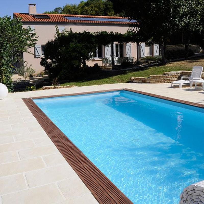 Piscina da giardino in legno Marbella 400 x 250 cm  San Marco