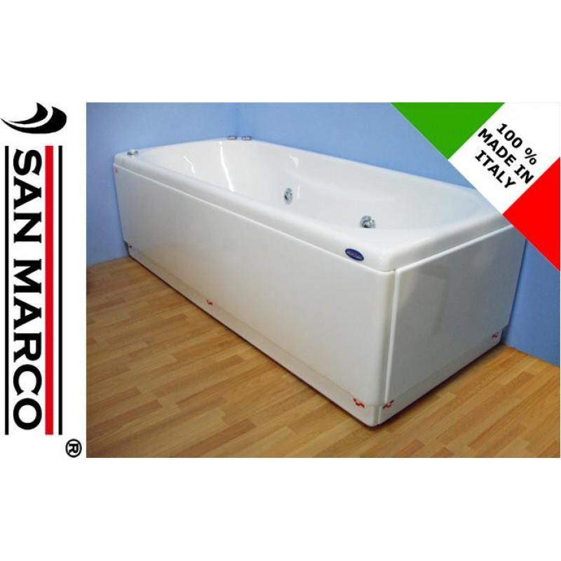 Vasca da bagno idromassaggio rettangolare 150x70 cm  San