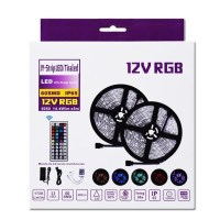 Tires Led 14,4W RGB 12V 5 metres Kit Complet IP65