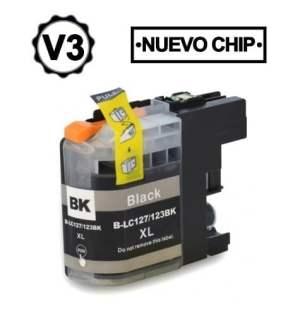 Brother LC123XL/LC121XL Negro Cartucho de Tinta Generico - Reemplaza LC123BK/LC121BK