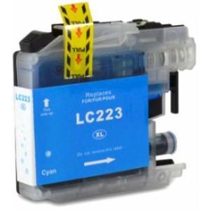 Brother LC223/LC221 V3 Cyan Cartucho de Tinta Generico - Reemplaza LC223C/LC221C