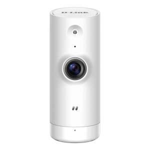 D-Link Camara de Vigilancia WiFi N Mini - HD 720p - Vision Nocturna - Angulo de Vision 120° - Deteccion de Movimiento - Para Interior - Color Blanco