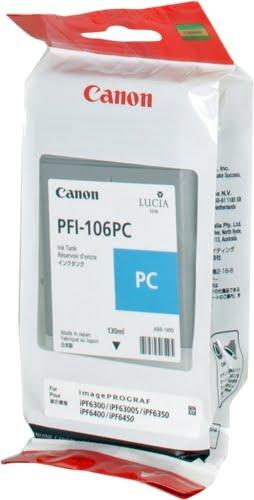 Canon PFI106 Cyan Photo Cartucho de Tinta Original - PFI106PC/6625B001