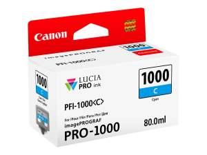 Canon PFI1000 Cyan Cartucho de Tinta Original - PFI1000C/0547C001
