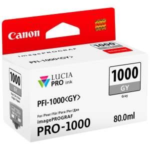 Canon PFI1000 Gris Cartucho de Tinta Original - PFI1000GY/0552C001