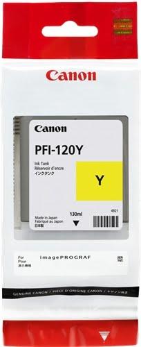 Canon PFI120 Amarillo Cartucho de Tinta Original - 2888C001