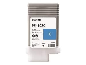 Canon PFI102 Cyan Cartucho de Tinta Original - 0896B001