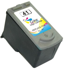 Canon CL41/CL51/CL38 Color Cartucho de Tinta Remanufacturado - Muestra Nivel de Tinta - Reemplaza 0617B001/0618B001/2146B001