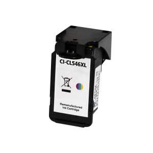 Canon CL546XL Color Cartucho de Tinta Remanufacturado - Muestra Nivel de Tinta - Reemplaza 8288B001/8289B001