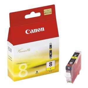 Canon CLI8 Amarillo Cartucho de Tinta Original - 0623B001