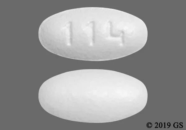 White With Imprint 114 Pill Images - GoodRx