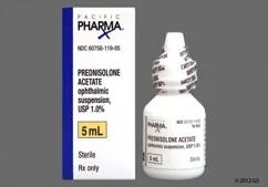 Prednisolone Acetate Images and Labels - GoodRx