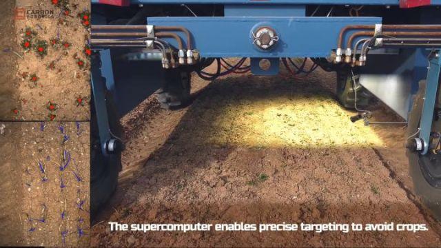 Zabójcze lasery - robot likwiduje 100 tys. chwastów na godzinę - ilustracja #2