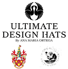 Ultimate Design Hats by Ana Maria Ortega Logo