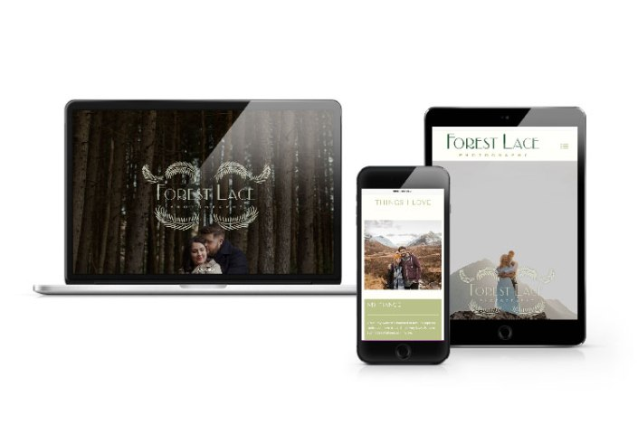 Forest Lace Photography PortfolioWebsite