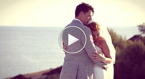 Samantha & John's Ibiza Wedding - Elixir Shore Club