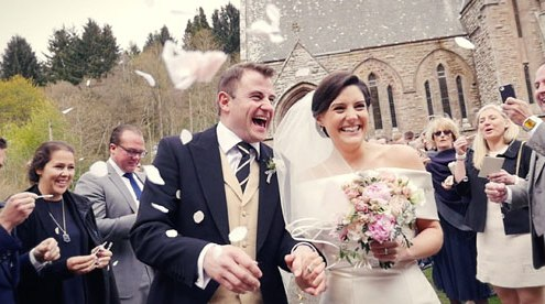Drumtochty Castle Wedding Video