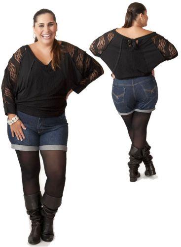 Dicas de Shorts para Gordinhas 9 Modelos de Shorts para Gordinhas