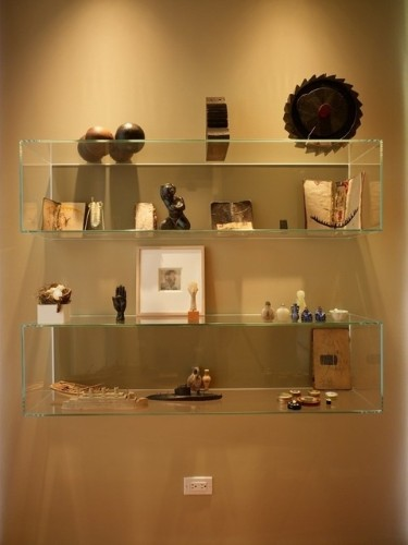Decorao com prateleiras de vidro  Veja Modelos