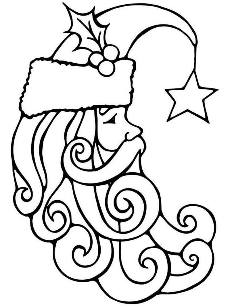 Desenhos de Natal para Colorir e Coloridos: 30 Ideias
