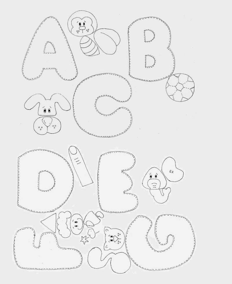 moldes de letras para agrandar moldes de letras para