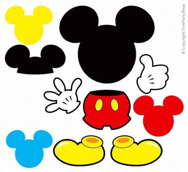 Lembrancinhas Do Mickey Mouse Simples Para Anivers 225 Rio