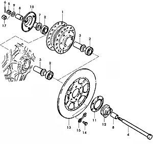 GS-Classic: Radlager wechseln