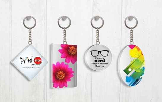 different custom keychains you